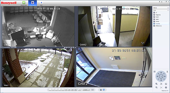 Coordinated multiple camera monitoring Dupage-County, IL